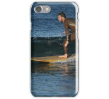 Sliding Over the Glassy Brine iPhone Case/Skin
