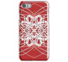 Abstract cosmic explosion iPhone Case/Skin