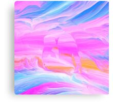 Speak softly love- Abstract ART + Product Design Canvas Print