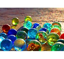Used Marbles Photographic Print
