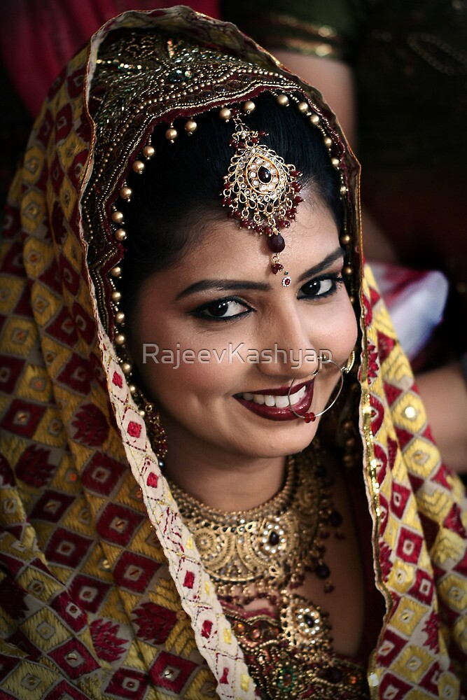 Beautiful Bride Saloni by RajeevKashyap