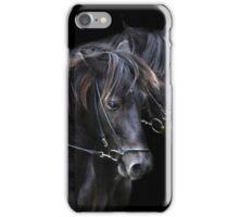 Ponies in the dark iPhone Case/Skin