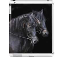 Ponies in the dark iPad Case/Skin