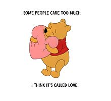 I Think It's Called Love (Winnie The Pooh) by hyrulehero