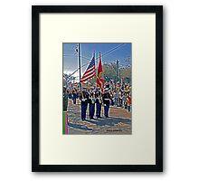 Marines Framed Print