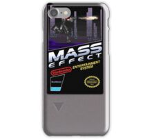 Mass Effect - Now for NES! iPhone Case/Skin