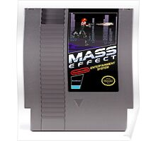 Mass Effect - Now for NES! Poster