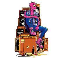 Spider-Punk Photographic Print