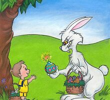 Bad Bunny- His Easter Egg Has Finally Cracked by murrayjodie