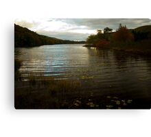 Cape Breton river in fall - Nova Scotia Canvas Print