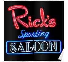 NightLife : Rick's Sporting Saloon Poster