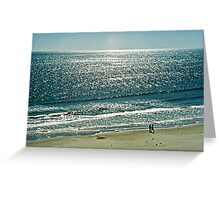 Thousands of Sun Diamonds Greeting Card