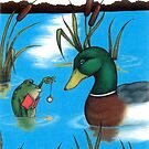 Frog Hypnotist - When Catching Flies Gets Boring by murrayjodie