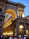 Milan Galleria, Italy by John Carpenter