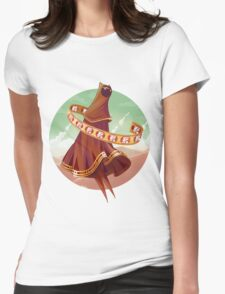 Journey Womens Fitted T-Shirt