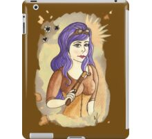 Steampunk Gunslinger iPad Case/Skin