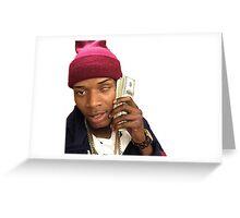 Fetty Wap Greeting Card