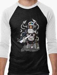 Behold my Wrench, Destructron! Men's Baseball ¾ T-Shirt