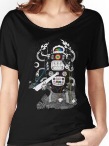 Behold my Wrench, Destructron! Women's Relaxed Fit T-Shirt