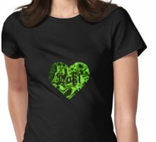 380. Love Loki Black Womens Fitted T-Shirt