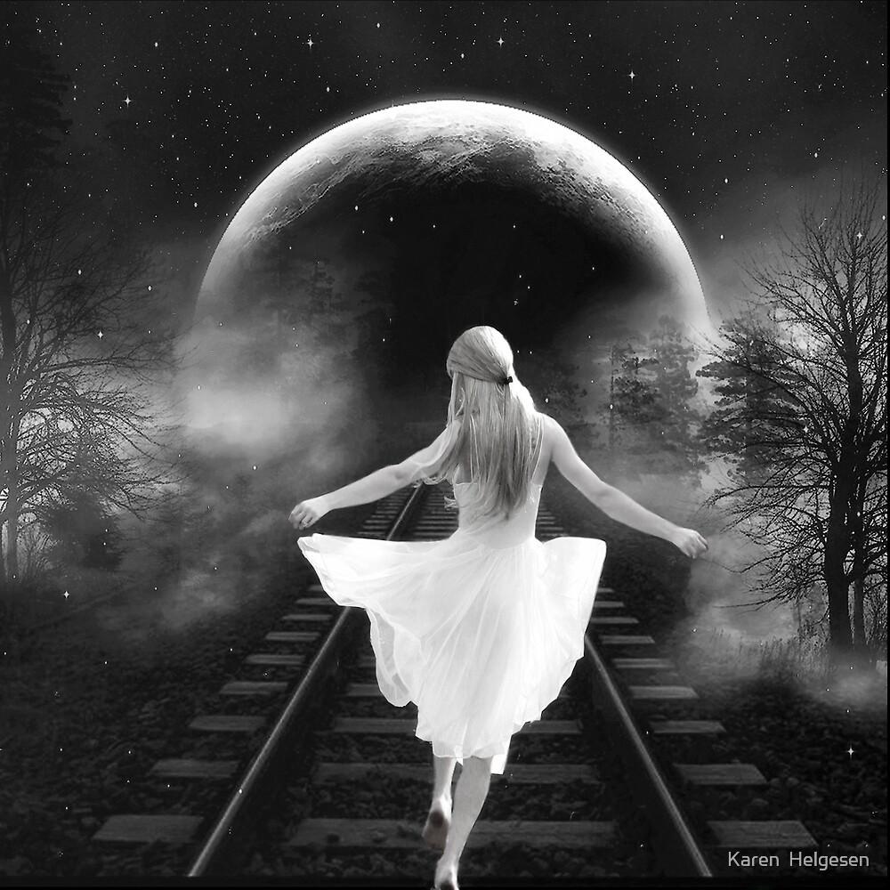 Dancing in the Moonlight.... by Karen  Helgesen