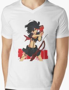 Ryūko Matoi Mens V-Neck T-Shirt