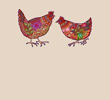 Red Chickens Unisex T-Shirt
