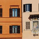 Windows of Piazza Navona ! by Alessandro Pinto