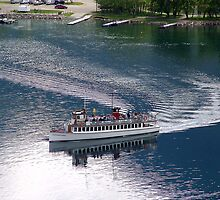 Waterton Lake Cruise by Jann Ashworth
