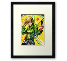 Chie from Persona 4 Framed Print