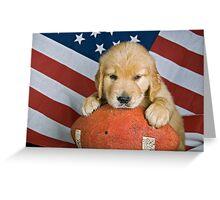 All-American Dog Greeting Card