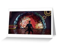 Mass Effect Cartoon - The Illusive Man Greeting Card