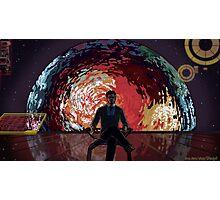 Mass Effect Cartoon - The Illusive Man Photographic Print