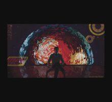 Mass Effect Cartoon - The Illusive Man T-Shirt