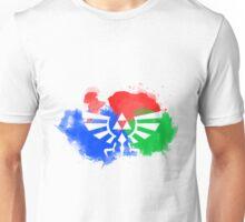 Watercolour Negative space royal crest Unisex T-Shirt