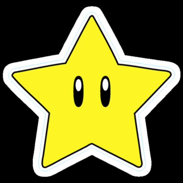 """Super Mario Star"" Stickers by danthekash   Redbubble"