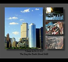 9-11 Tribute ©  by Dawn M. Becker