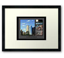 9-11 Tribute ©  Framed Print