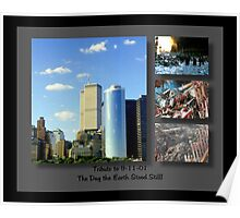 9-11 Tribute ©  Poster