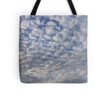 Clouds floating on by Tote Bag