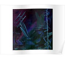 Water Foliage Poster