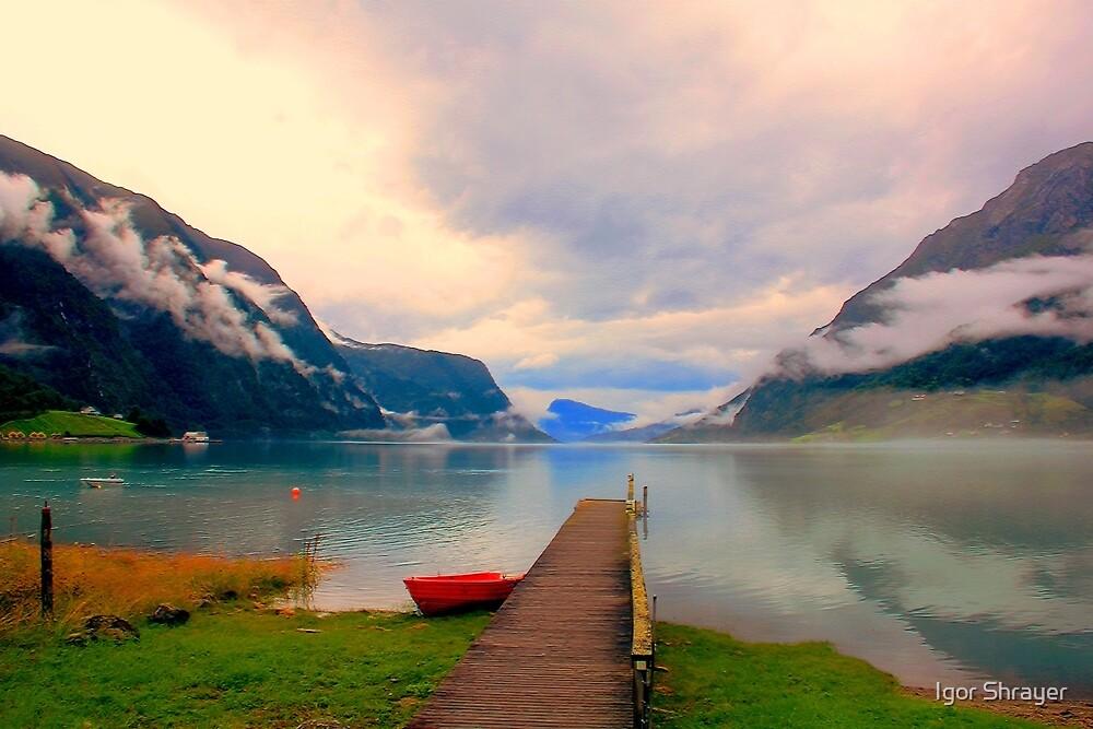 Norwegian Landscape IV by Igor Shrayer
