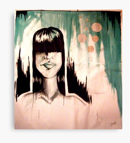 The Person In My Head Canvas Print