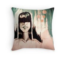 The Person In My Head Throw Pillow