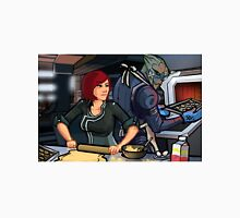 Mass Effect Cartoon - Cookie Time Unisex T-Shirt
