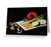just healthy... Greeting Card