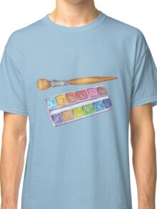 palette with brush Classic T-Shirt