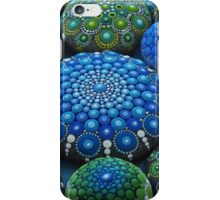 Cool Tone Mandala Stone Collection iPhone Case/Skin