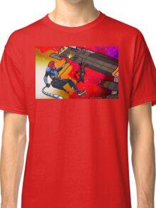 Mass Effect Cartoon - Husk Attack Classic T-Shirt