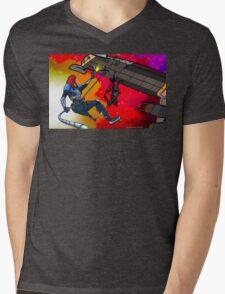 Mass Effect Cartoon - Husk Attack Mens V-Neck T-Shirt